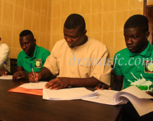 Dreams FC sign Dawu Youngsters duo