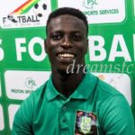 DREAMS FC HAVE SIGNED MICHAEL SARPONG ON A THREE-YEAR DEAL
