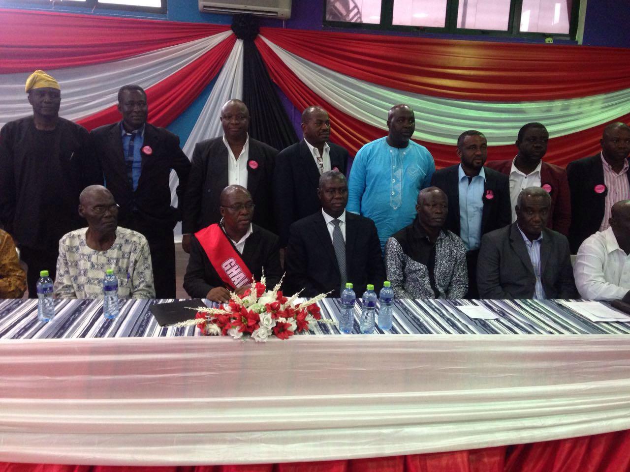 GHALCA Executives sworn into office.