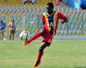 Hearts' Paul Acquah expresses delight with first league goal