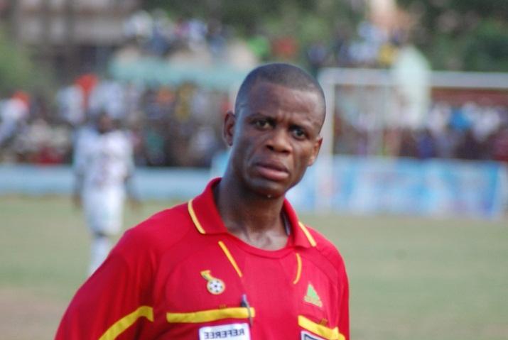 FIFA referee William Agbovi handed 8-match ban