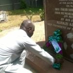 May 9 Commemorated with wreath laying ceremony