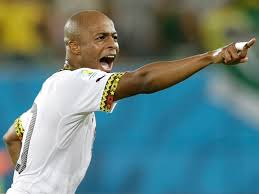 Andre Ayew to captain Ghana in AFCON qualifier against Mauritius
