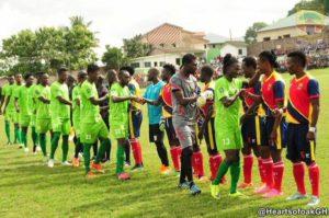 PHOTOS: Dreams FC vs Hearts of Oak in Dawu