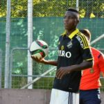 Former Inter Allies defender Patrick Kpozo earns first team promotion at AIK