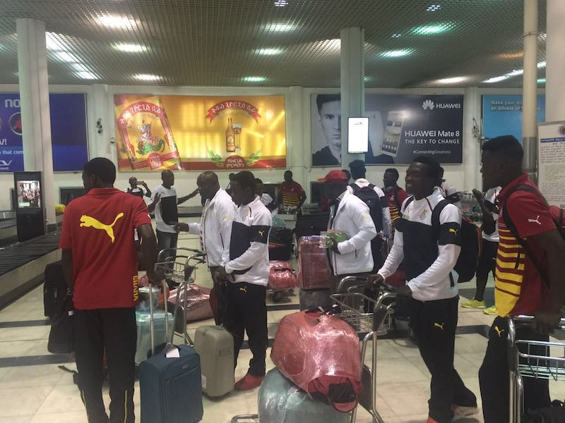 Black Satellites to hold first training in Addis Ababa ahead of Saturday's 2017 AYC qualifier with Ethiopia