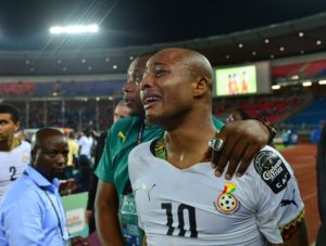 Dede Ayew pays tribute to President John Mahama for the loss of his mother