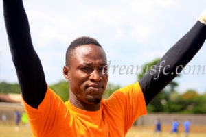 Dreams FC part ways with Isaac Arkrong by mutual consent