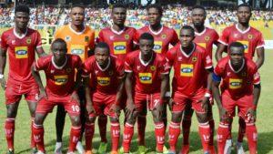 Asante Kotoko resume training after 7 days break