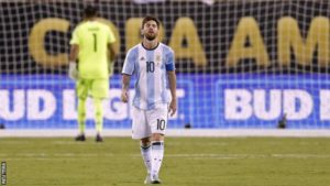 Lionel Messi retires from international football after COPA America setback