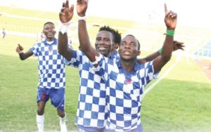 GN Bank Division One League: Great Olympics, Elmina Sharks and Mighty Royals top Zones at halfway stage
