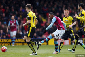 Jordan Ayew's manager at Aston Villa Di Matteo wants him to stay