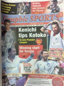 Kenichi hits out at Graphic Sports over Kotoko report