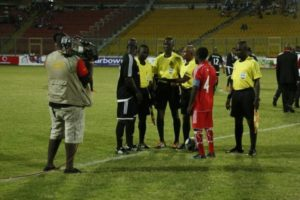 Photos: Kotoko walloped World XI 4-1 in Vodafone Unity Match