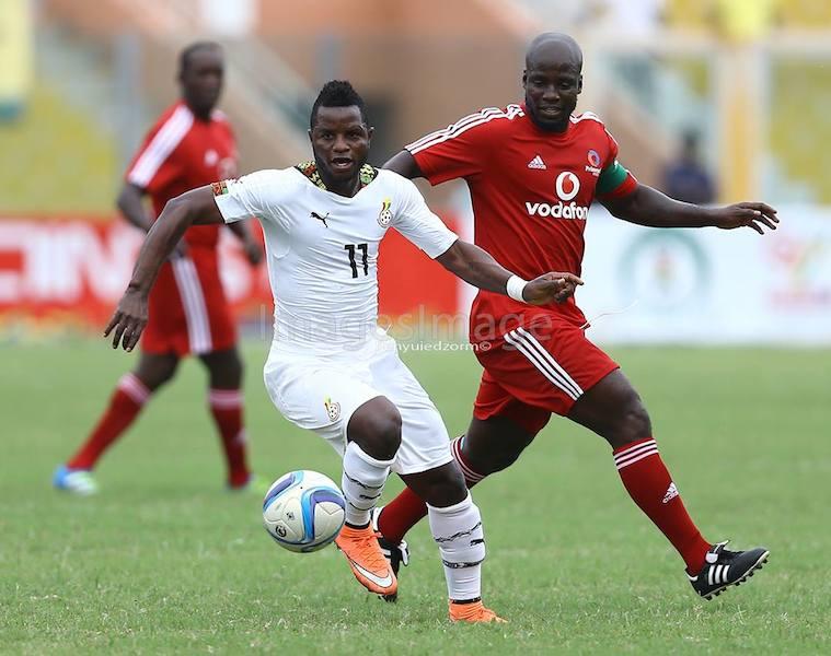 Black Stars defeat World XI 4-2 in Vodafone Unity Match