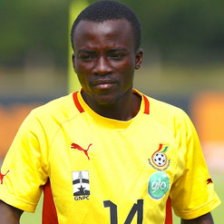 Solomon Asante loses brother
