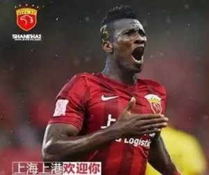 Feature: A Chinese statistic shows Asamoah Gyan does better business at SIPG