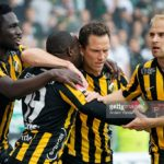 Baba Mensah makes first league start for Swedish side Hacken