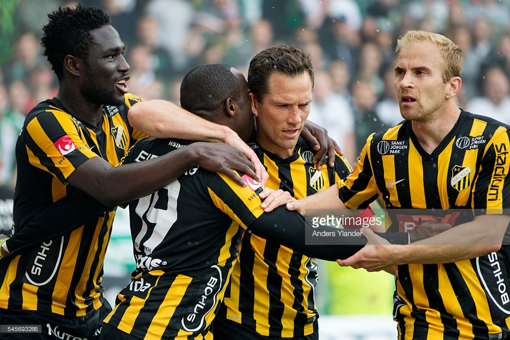 Baba Mensah Baba Mensah makes first league start for Swedish side Hacken