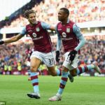 Jordan Ayew scores twice in 8-0 Villa thumping of minnows GAK
