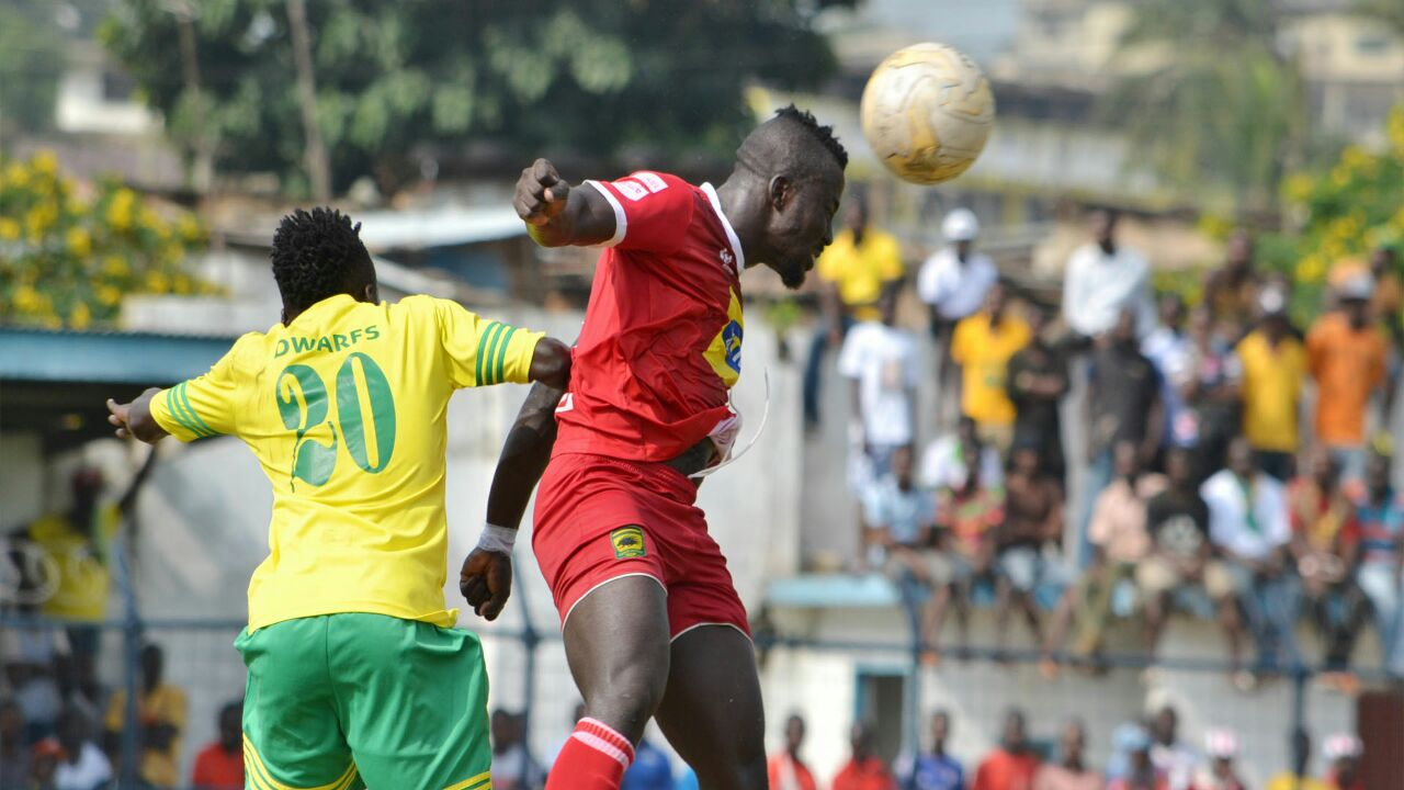 Ghana Premier League: New Edubiase deepen Kotoko's woes, Hearts-Ashgold share spoils
