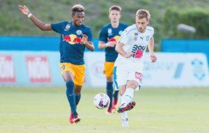 Video: Ghana striker Samuel Tetteh scores sublime free-kick in Austrian second-tier league