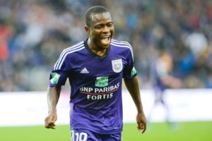 Frank Acheampong scores for Anderlecht in pre-season win