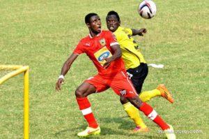 Kotoko lose influential defender Ahmed Adams through suspension for Hearts game