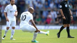 Andre Ayew itching to play in EPL opener against Burnley