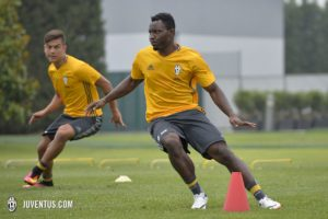 Photos: Kwadwo Asamoah starts pre-season with Juventus