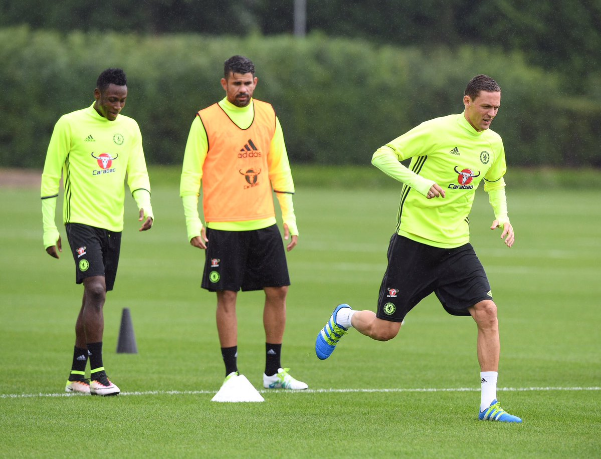 WATCH PICTURES: Ghana defender Baba Rahman starts pre-season with Chelsea