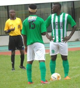 Eric Bekoe returns to training after sustaining a knock in Hearts game