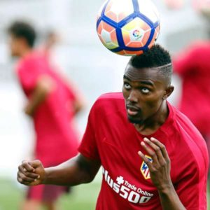 Bernard Mensah fails to complete Atletico Madrid training after intense vomiting