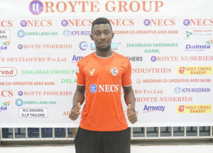 Ghanaian midfielder Bright Mends signs for Indian side Aizawl FC