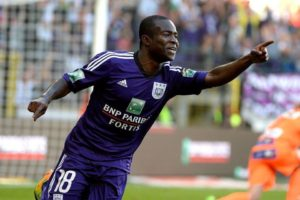WATCH VIDEO: Frank Acheampong's goal in Anderlecht 2-1 win over Mouscron-Peruwelz