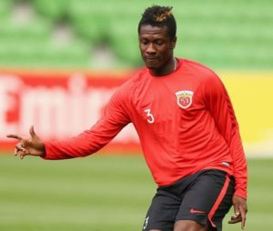 Statistic shows Asamoah Gyan does better business at SIPG