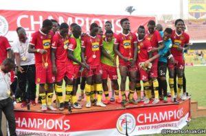 PHOTOS: Asante Kotoko beat Hearts of Oak to lift President Cup