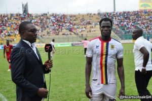 Hearts defender Inusah Musah named Man of the Match in Super Clash