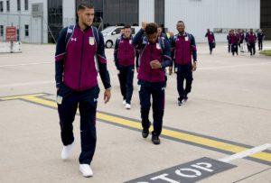 Jordan Ayew jets off to Austria with Aston Villa for pre-season