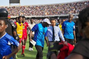 Ex-Hearts coach Kenichi defends Yaw Preko and Nasam Yaukubo on sabotage clains