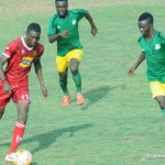 Kotoko striker Bennet Ofori laments on the difficulty that comes with playing at home