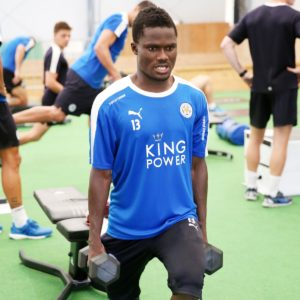 Daniel Amartey and Jeffery Schlupp join colleagues for leg Day exercise in pre-season