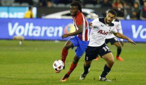 Thomas Partey enjoys role at Atletico Madrid