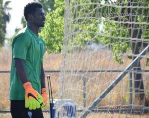 WATCH VIDEO: Ghana goalkeeper Razak Braimah takes special training