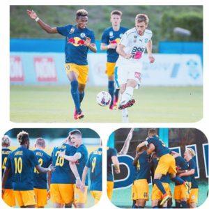 Samuel Tetteh happy to open scoring account in Austrian second-tier league