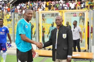 Hearts goalkeeper Abdoulaye Soulama named man of the match in victory over Chelsea