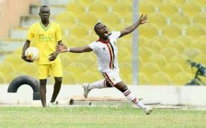 Hearts hold Kotoko in Kumasi to preserve unbeaten away record