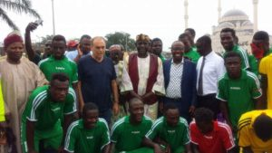 PHOTOS: Black Stars coach Avram Grant pops up at grass root football contest at Kawukudi