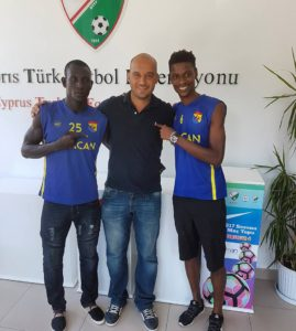 Samuel Kingston:Younger brother of Laryea and Richard secures deal in Cyprus