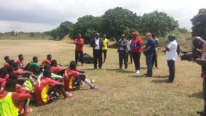 Black Starlets move camp to Cape Coast ahead of AYC qualifier against Burkina Faso
